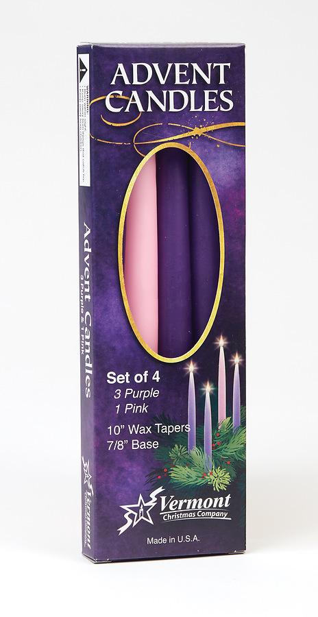 advent candle set of 4 cokesbury. Black Bedroom Furniture Sets. Home Design Ideas