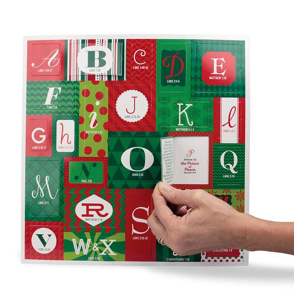 Christmas Advent Calendar.Abc S Of Christmas Advent Calendar