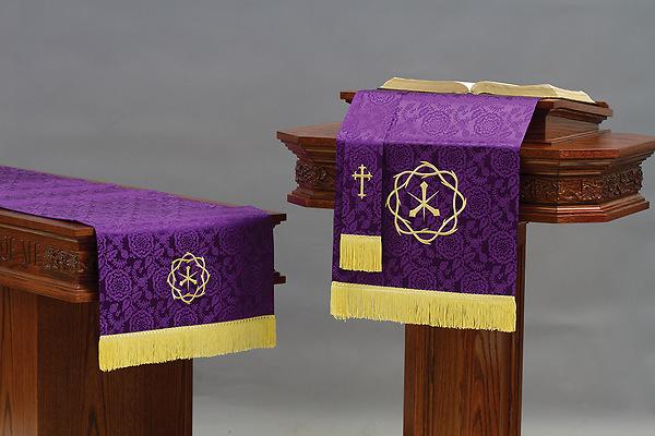 Abbott Hall Trn Purple Crown Of Thorns Three Piece