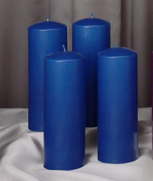 Advent candle votive shadow play gift 3D stainless steel attachment for candles incl postcard