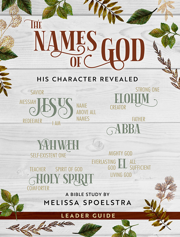 The Names of God Women's Bible Study Leader Guide | Cokesbury