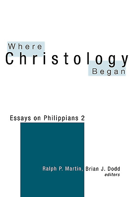 where christology began essays on philippians 2 Download and read where christology began essays on philippians 2 where christology began essays on philippians 2 the ultimate sales letter will provide you a.