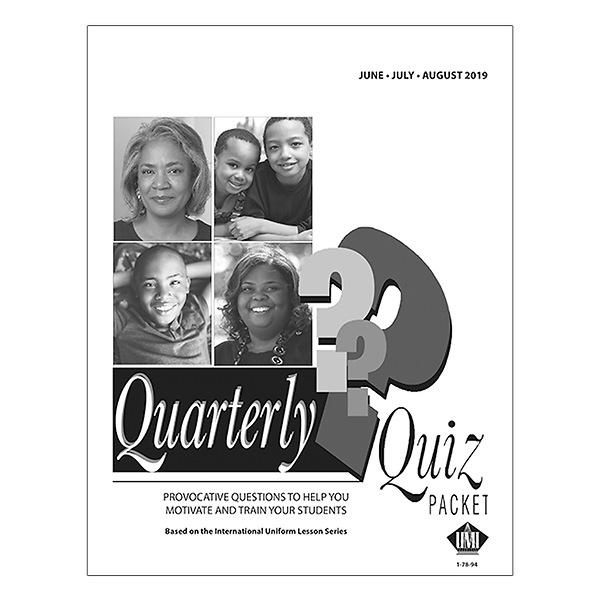 UMI Quarterly Quiz Pack of 11 Summer 2019