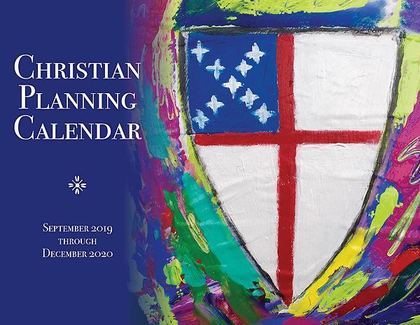 2020 Christian Calendar Christian Planning Calendar 2019 2020 | Cokesbury