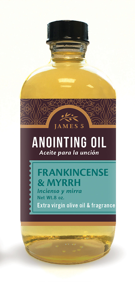 James 5 Frankincense and Myrrh Anointing Oil - 8 oz  Refill