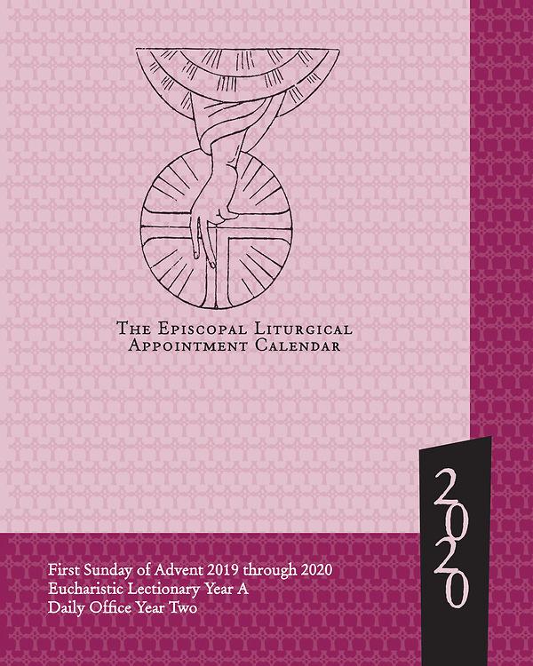 Episcopal Liturgical Calendar 2020 The Episcopal Liturgical Appointment Calendar 2020 | Cokesbury