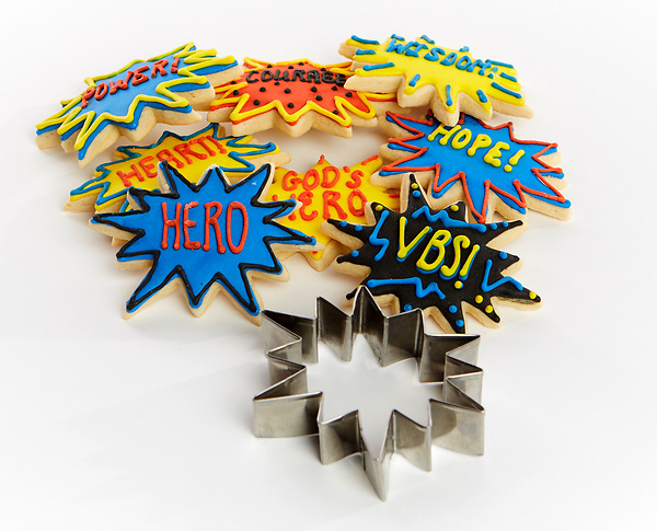 Vacation bible school vbs 2017 hero cookie cutter for Hero central vbs crafts
