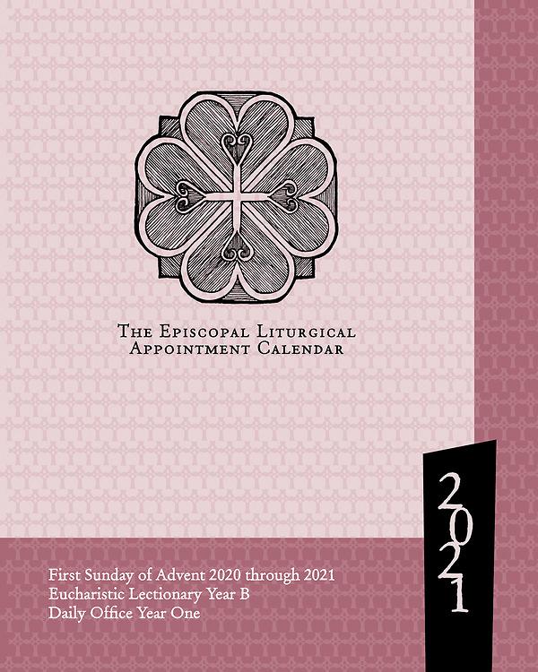 Episcopal Church Liturgical Calendar 2021 The Episcopal Liturgical Appointment Calendar 2021 | Cokesbury