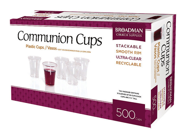 Communion Cups-Plastic (Box of 500)