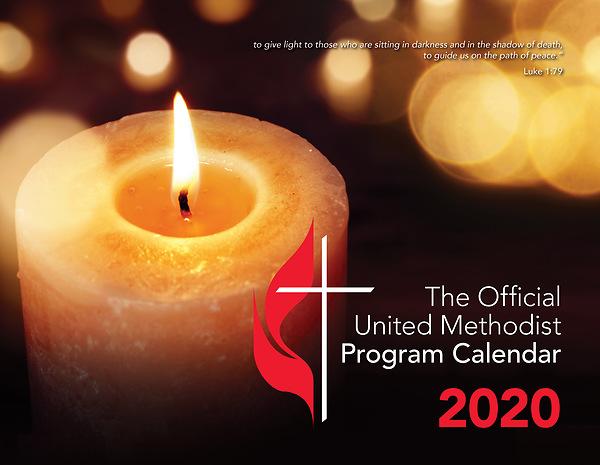 Umc Calendar 2020 2020 Official United Methodist Program Calendar | Cokesbury