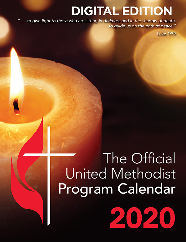 Methodist Calendar 2020 2020 Official United Methodist Program Calendar | Cokesbury