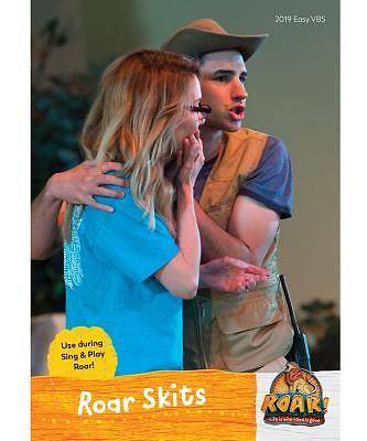 Vacation Bible School (VBS19) Roar Sing & Play Roar Skits DVD