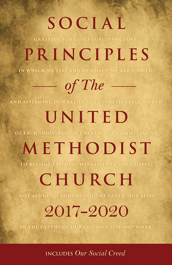Umc book of discipline social principles