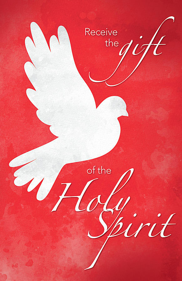 Picture of Receive the Gift of the Holy Spirit Confirmation Regular Size Bulletin