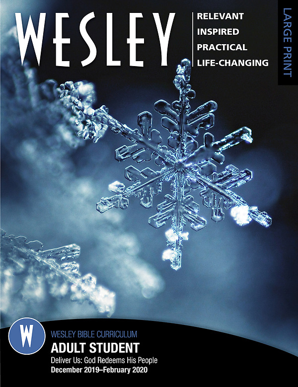 Winter Bible Study 2020.Wesley Adult Bible Student Large Print Winter 2019 2020