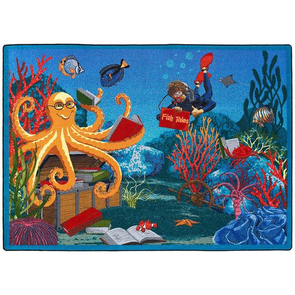Fish Tales Children's Area Rug