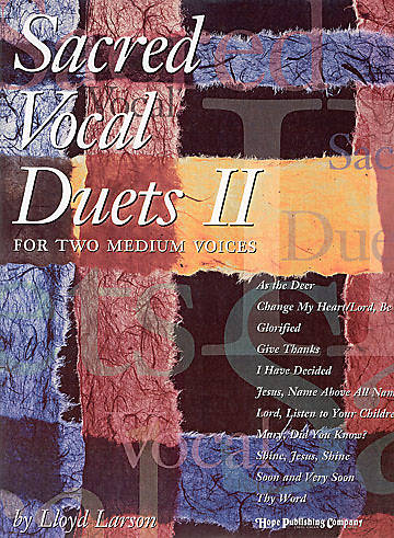 Sacred Vocal Duets II