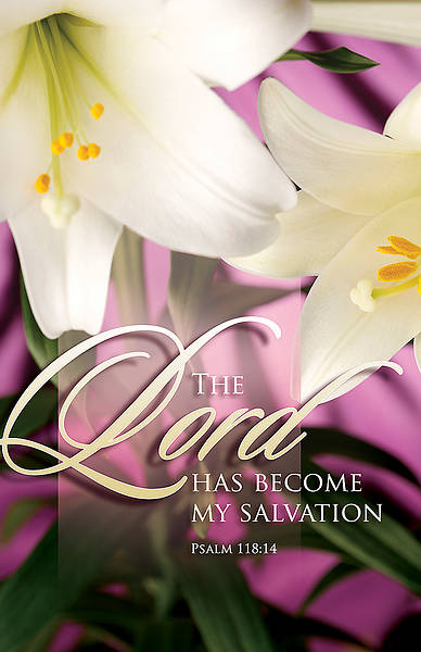 The Lord has become my salvation Easter Bulletin