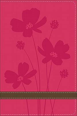 Gods Word Compact Bible Rose Brown Flower Design Duravella