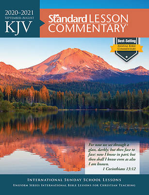 Picture of KJV Standard Lesson Commentary 2020-2021