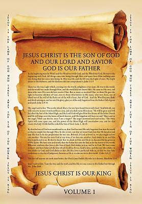 Picture of Jesus Christ Is the Son of God and Our Lord and Savior God Is Our Father