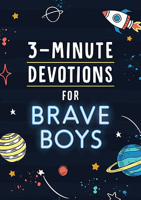 Picture of 3-Minute Devotions for Brave Boys