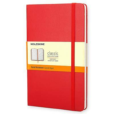 Notebook Moleskine Classic Red Ruled Pocket