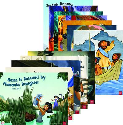 Picture of Simply Loved Q2 Bible Story Poster Set 12 2020