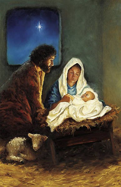For Unto Us a Child is Born Christmas Bulletin Regular (Package of 100)