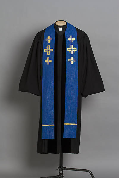 Picture of Trinity Kingdom Cross Stole Blue