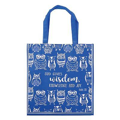 Picture of Non-Woven Tote Owls Wisdom