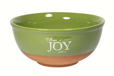 Picture of Terracotta Fruit Bowl Tiding Of Great Joy
