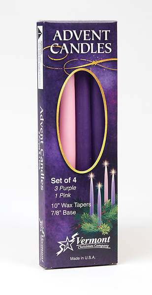 Advent Candle Set of 4