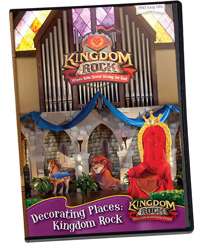 Group Vacation Bible School 2013 Kingdom Rock Decorating Places DVD