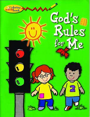 Picture of Gods Rules for Me Col/ACT Book