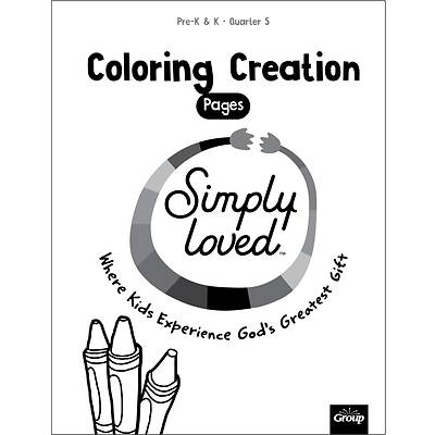 Picture of Simply Loved Q5 PreK-K Coloring Creation