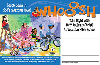 Picture of Vacation Bible School (VBS) 2019 WHOOOSH Outdoor Banner