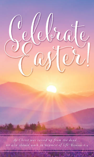 Picture of Celebrate Easter! Sunrise 3' x 5' Fabric Banner