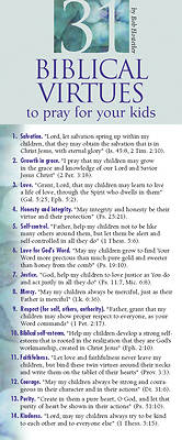 Picture of 31 Biblical Virtues to Pray for Your Kids 50-Pack