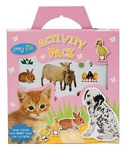 Busy Kids Activity Pack Baby Animals [With Sticker(s) and Scenes]