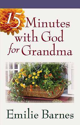 Picture of 15 Minutes with God for Grandma
