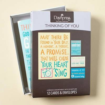 Drawing Closer - Thinking of You Boxed Cards - Box of 12