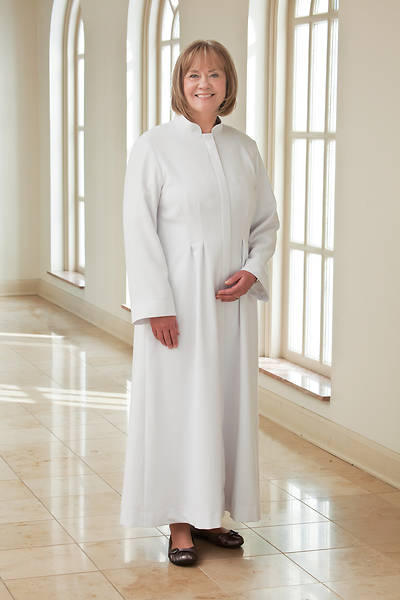 Picture of WomenSpirit Martha Custom White Robe