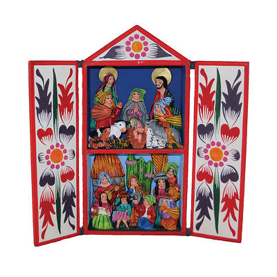 Retablo Box Nativity XL