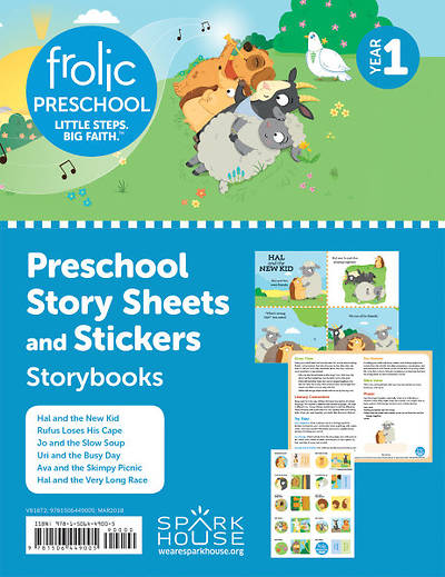 Picture of Frolic Preschool Story Sheets and Stickers