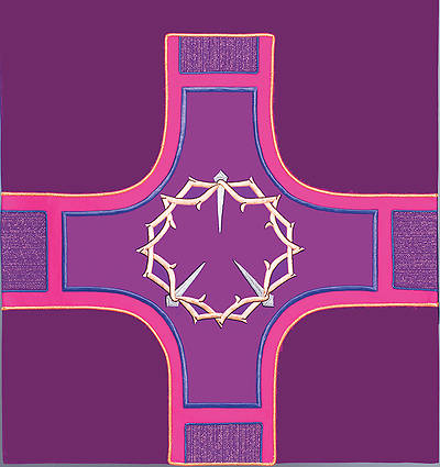Revelation Series Altar Antependia Purple Lent