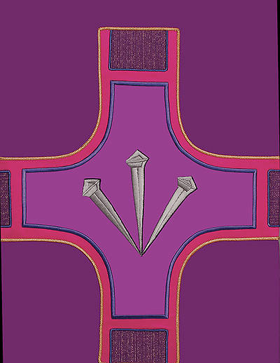 Revelation Series Lectern Scarf Purple Lent