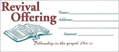 Picture of Revival Offering Envelope Package 100
