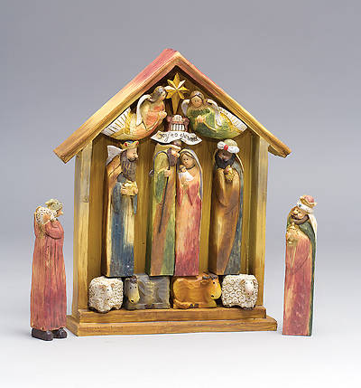 Nativity Set (Magnetic - 13 Pieces)