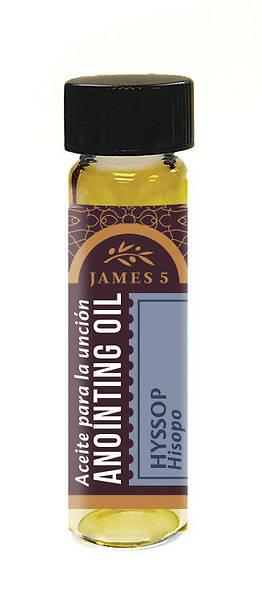 Picture of James 5 Hyssop Anointing Oil - 1/4 oz.